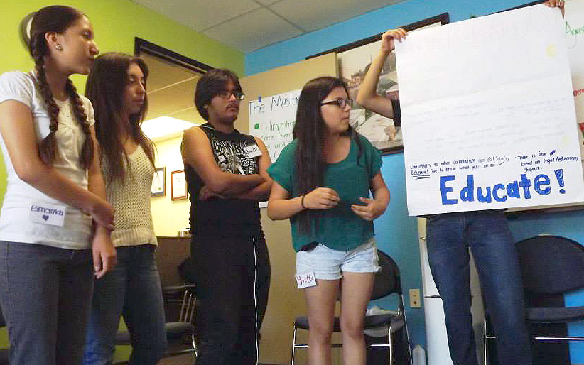 Youth for Environmental Justice workshop